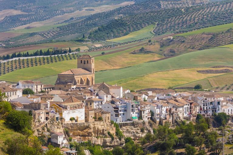 Alhama de Granada, southern Spain