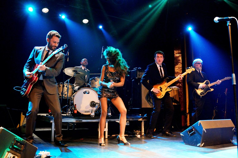 DJs and bands from around the world take to Sala Apolo's stage