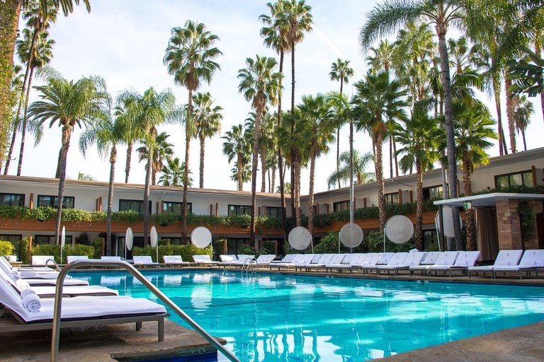 Take a dip in the pool at Hollywood Roosevelt, Hollywood Roosevelt, Los Angeles