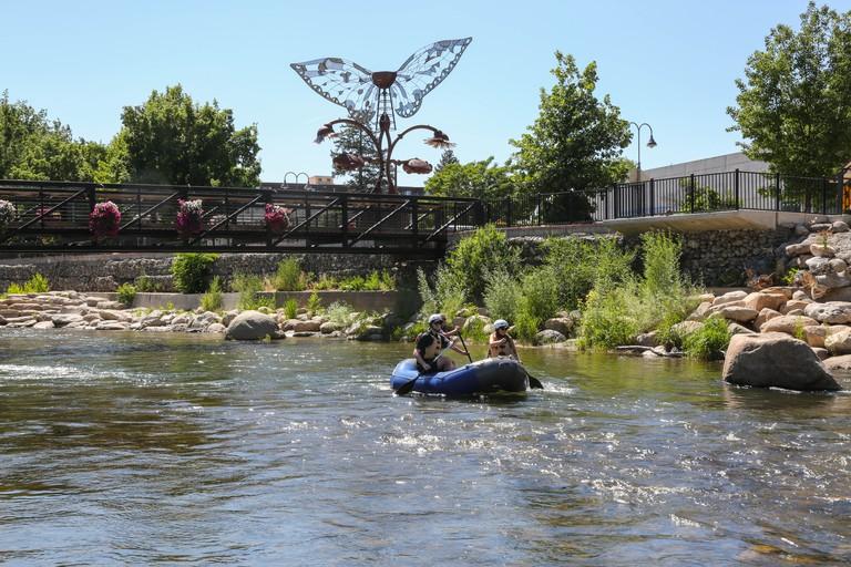 Truckee River, Reno Tahoe