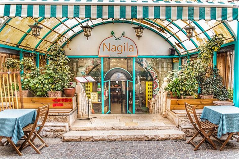 Nagila is a family-run restaurant in Even Yisrael, Jerusalem