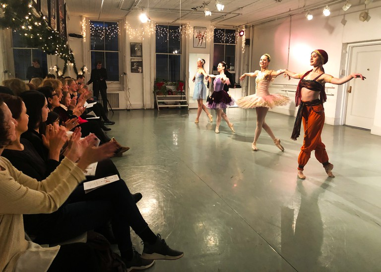 Rebecca Kelly Ballet started out in a SoHo studio