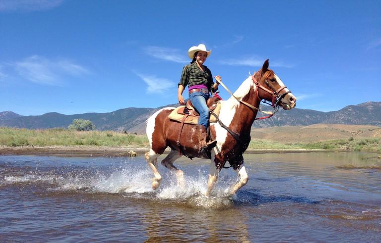 Horseback riding in Reno Tahoe