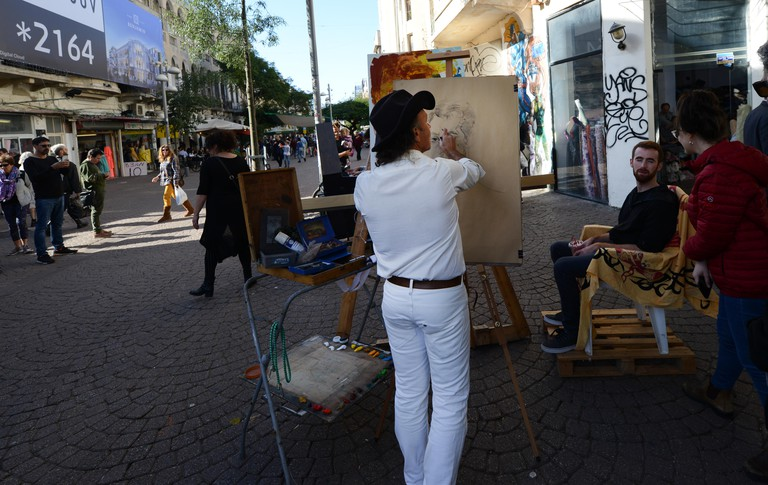 The Nahalat Binyamin Artist Market runs on Tuesdays and Fridays