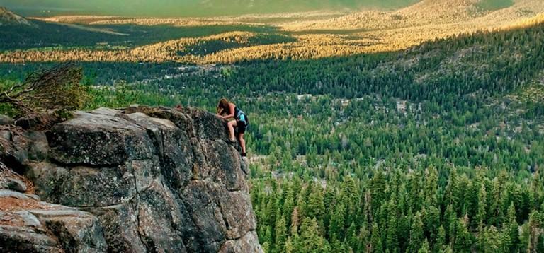 Rock climbing in Reno Tahoe