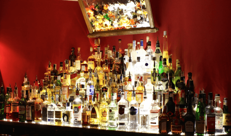Plenty of drinks choice is on offer