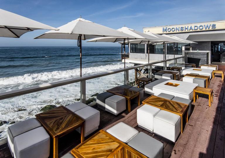 The Blue Lounge at Moonshadows, Malibu