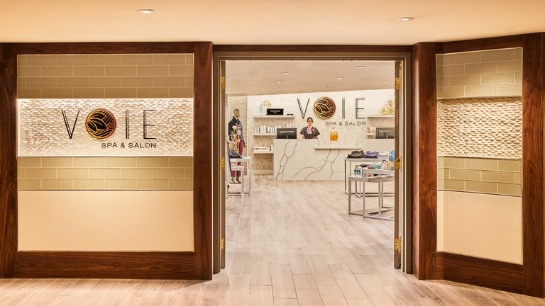 Voie Spa & Salon at Paris by Mandara in Las Vegas, NV, USA.