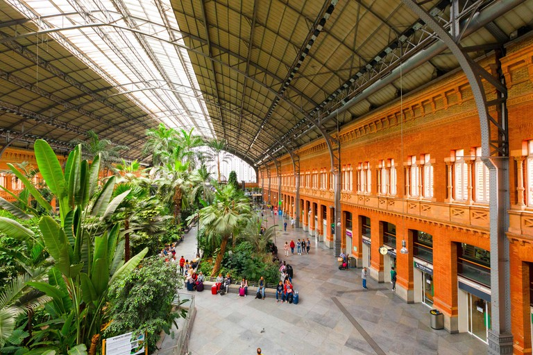 Atocha Railway Station, Madrid, Spain, South West Europe
