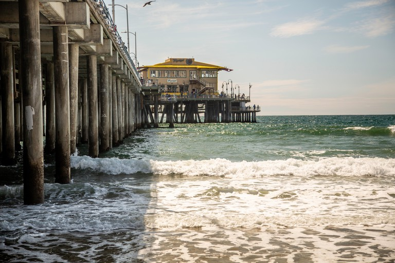 Santa Monica pier California