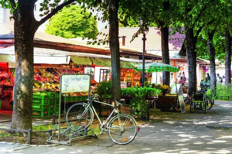 Elisabethmarkt in Munich