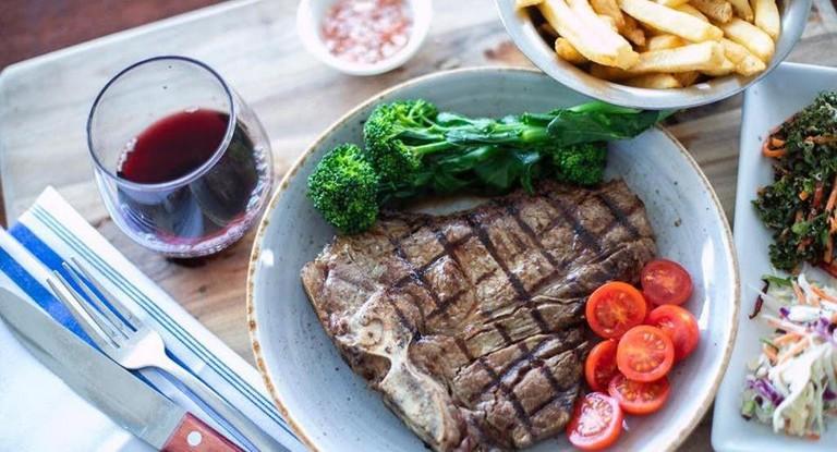 Steak at Macelleria