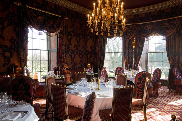 Rhubarb Restaurant Prestonfield House Hotel Edinburgh Scotland