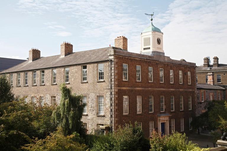 The Chester Beatty Library in Dublin Castle, Dublin.