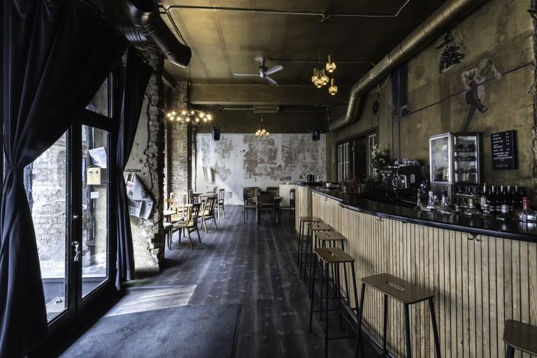Interior of Café Luzia, Berlin
