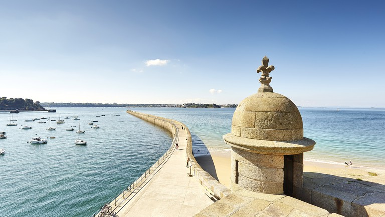 Saint-Malo is a popular holiday destination
