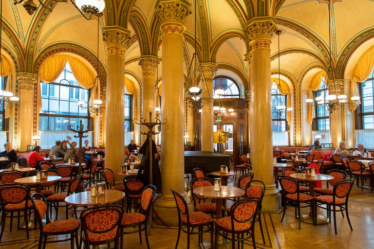 Café Central has been an institution in Vienna since 1876