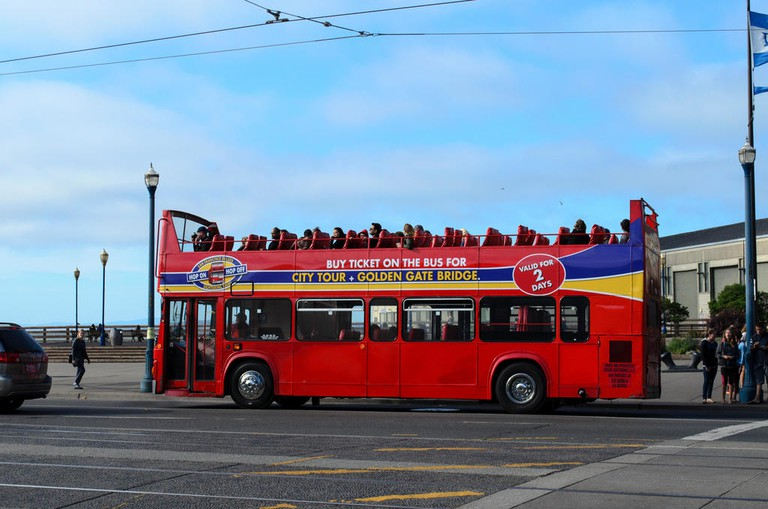 A bus tour is a great way to see everything a city has to offer