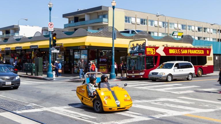 Explore San Francisco via GoCar