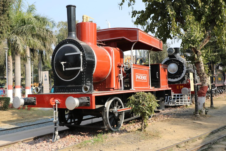 Antique rail engine, National Rail Museum, New Delhi