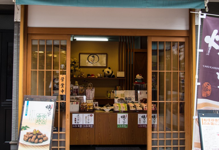 Seek out traditional Tokyo snacks
