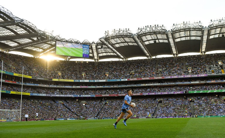 GettyImages-1168093927_small - Dublin , Ireland - 14 September 2019; Eoin Murchan of Dublin during the GAA Football All-Ireland Senior Championship Final Replay match between Dublin and Kerry at Croke Park in Dublin.