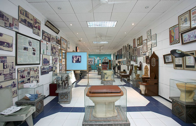 Sulabh International Museum of Toilets established by Bindeshwar Pathak in New Delhi, India
