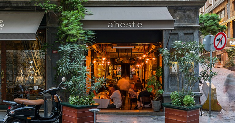 Aheste is a modern take on the Turkish meyhane
