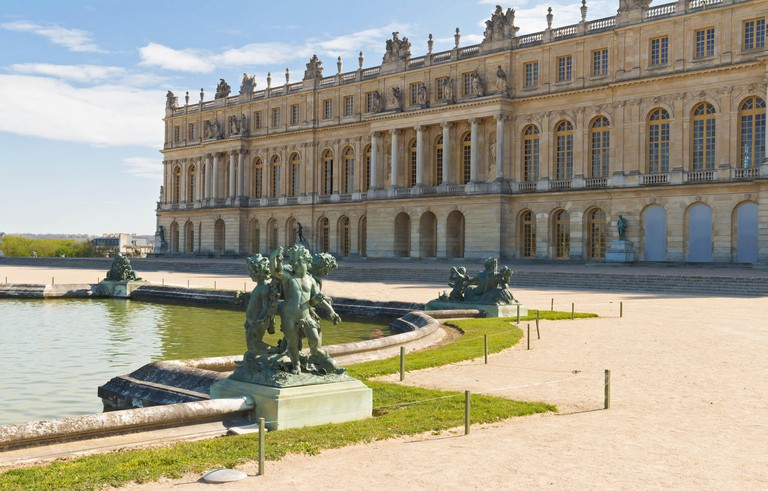 The Palace of Versailles, France.