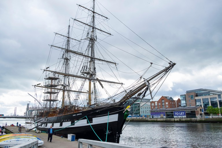 Take a guided tour of the Jeanie Johnston
