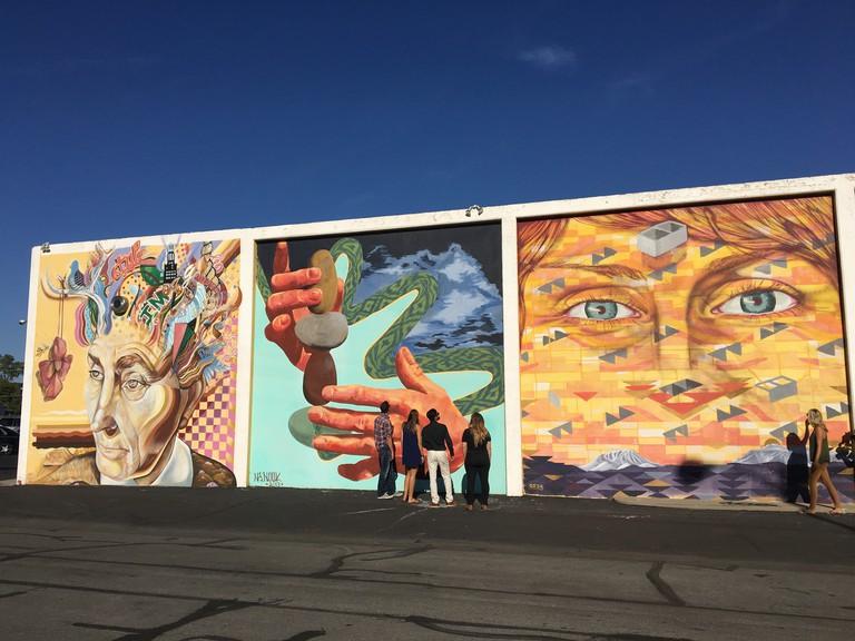 Explore the city on a public art tour