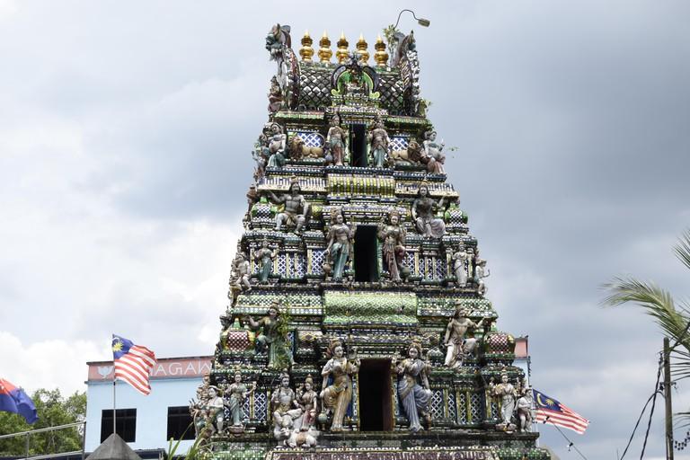 Arulmigu Sri Rajakaliamman Glass Temple (Malaysia, Johor Bahru)