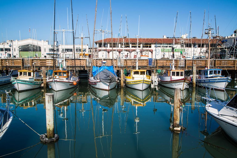 Fisherman's Wharf is home to a number of attractions