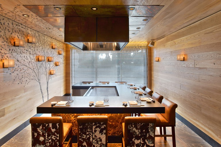The attention to detail extends from the food to the design at Nobu