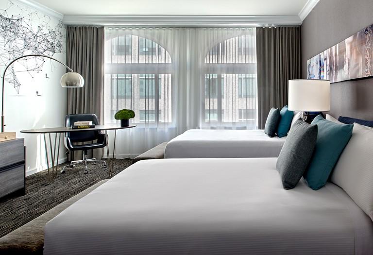 Deluxe Double Guest Rooms ensure Optimum space and comfort, Hotel Zelos, San Francisco