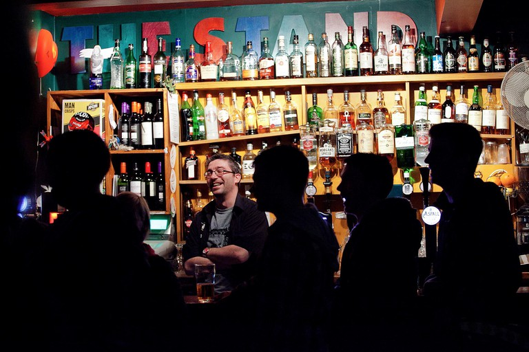 9. The Stand Comedy Club is a perfect place to laugh the night away