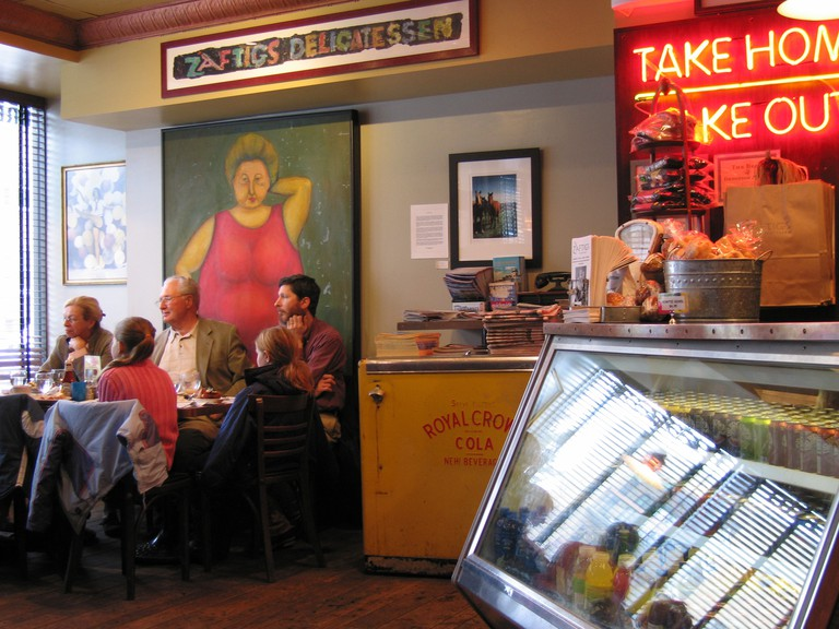 Zaftigs delicatessen Coolidge Corner Brookline, Mass