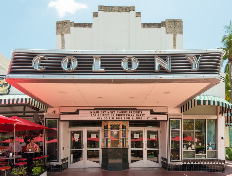 Colony Theatre is one of the most fashionable performing arts venues in South Florida