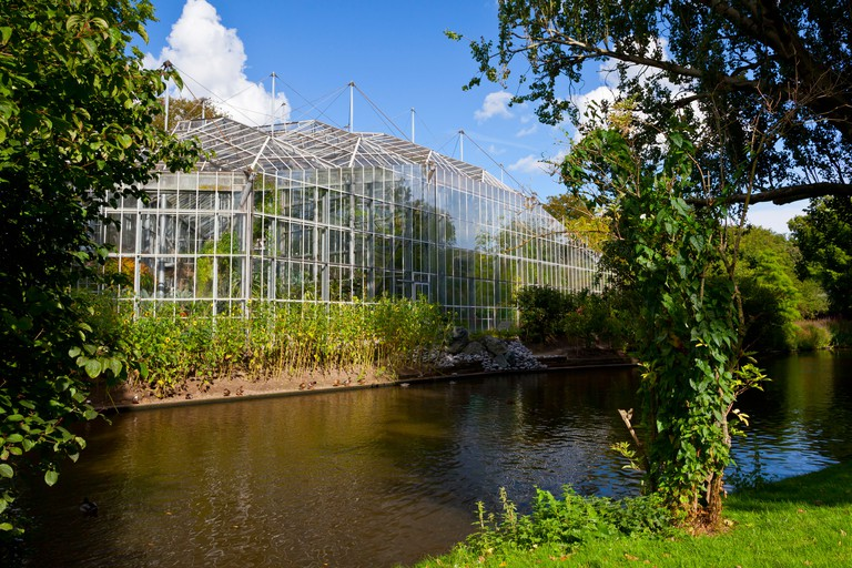 De Hortus botanical garden building, Amsterdam.