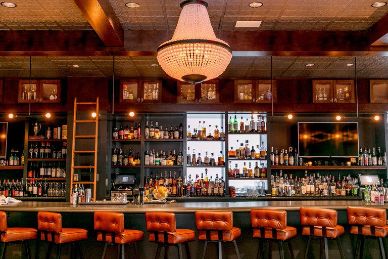 In addition to creative cocktails, Lion's Tail offers Sunday brunch