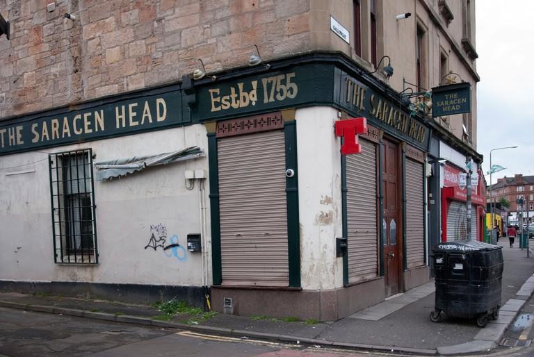 The Saracen Head Public House Gallowgate near Glasgow Cross Glasgow Scotland
