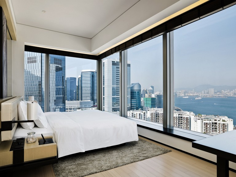 Choose between rooms with an urban-view or a harbour-view, East Hong Kong