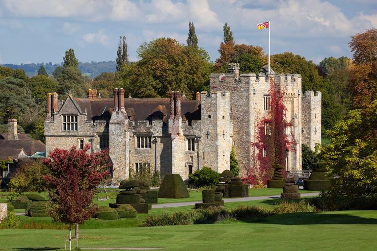 Hever Castle and gardens, Hever, Kent, England, United Kingdom, Europe