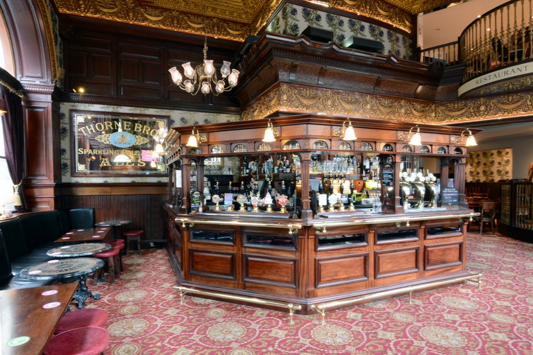 Interior of The Guildford Arms