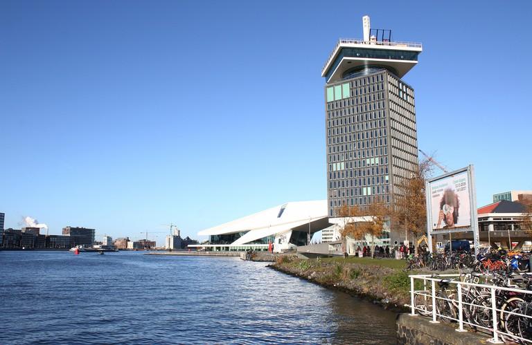 A'dam tower, Amsterdam.