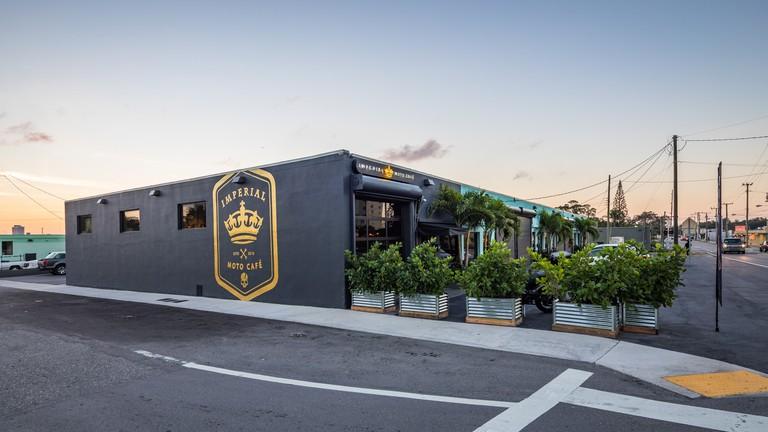 Imperial Moto Cafe, Miami, Florida, USA.