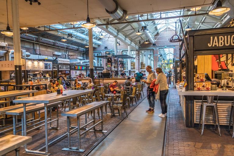 De Hallen Food and shops department, Amsterdam, Jordan