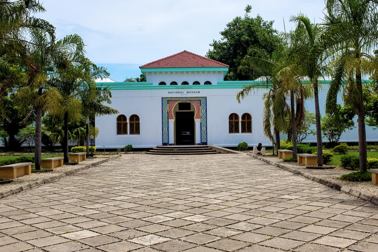 The National Museum and House of Culture houses a range of interesting artefacts