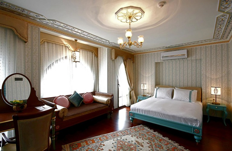 Niles Istanbul features 19th-century design elements throughout