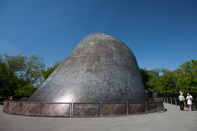 The Peter Harrison Planetarium, Greenwich, London